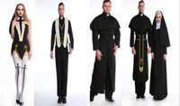 New sales sexy Maria Halloween nuns costume ball priest Them...