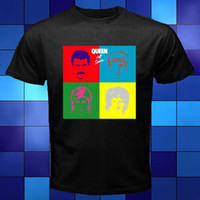 New QUEEN - Hot Space Album Cover Logo Black T- Shirt Size S ...