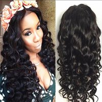 Women Human Hair Full Lace Wig Brazilian Virgin Hair Lace Fr...