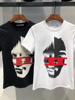 New brand t shirt men 2018 Fashion Two- Face Printed Fashiona...