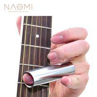 NAOMI Krom Gitar Slayt Kaplama Blues Slider Son Derece Cilalı Elektro Gitar Slide-046B Gitar Parçaları Aksesuarları Yeni
