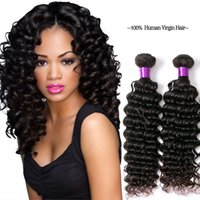 Z&F 100% Human Hair Deep Wave Hair Bulks For Black Women Nat...