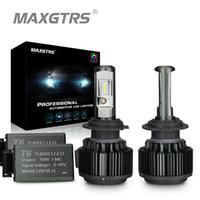 MAXGTRS H4 Hi / lo H7 H8 H11 9006 Carro LED Faróis 9005 HB3 HB4 H1 H13 880 881 Alta Potência Canbus Branco 6000 K Lâmpadas Substituir Lâmpada