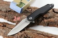 Mais recente arriver Big Three Faca 56-58HRC 7CR13 A161 A162 faca A163 camping caça dobrável faca 1 pcs frete grátis
