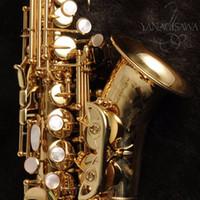 Yeni Yüksek Kaliteli Yanagisawa SC-991 Altın Vernik Soprano Saksafon B-flat Profesyonel Saksafon Müzikal İçin Öğrenci Ücretsiz Kargo