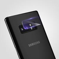 Geri Kamera Lens Temperli Cam Samsung Galaxy Not Için 8 S8 Artı Not 4 Not 5 S6 Kenar S7 Kenar Ekran Koruyucu Tam Kapak Filmi