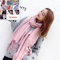 Unisex Solid Color Thick Scarf 2018 Men' S Womens Men&#0...