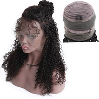 360 Lace Frontal Wigs For Black Women Kinky Curly 130% Densi...