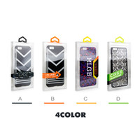 Fashion Blister PVC Plastic Plastic Retail Retail Packaging Box di imballaggio personalizzato per iPhone 6 4.7 5.5 Custodia per cellulare