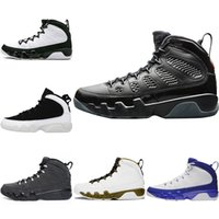 2018 New Mens 9 9s Bred LA Basketball Shoes Space Jam Black ...