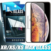 Full Cover Tempered Glass For Iphone XR XS MAX X 8 7 Plus Sa...