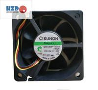 Sunon 6025 12V 2.2W KDE1206PTB1 (m) Kylfläkt, GM1206PTV2-A