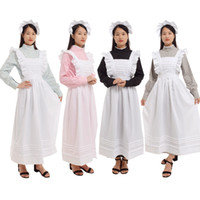 Women Vintage Castle Housekeeper Dress Maid Costume British ...