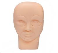 Neue Semi Permanent Make-Up Tattoo Augenlippe 3D Praxis Haut Schaufensterpuppe Kopf Trainingsgeräte Hot