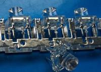 mezclar 6colors plana superior cóncava piraña superflux 5mm LED de luz de perlas de diodos agua clara