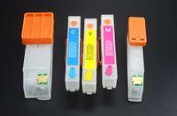 Cartouche d'encre de recharge 273 / 273XL pour Epson XP-610, XP-620, XP-810, XP-820, XP-520 Imprimante, avec puce permanente, 5 pcs / set