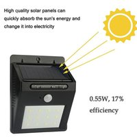 Solar Garden Light Sensor 12LED 20LED 30LED Wall light PIR M...