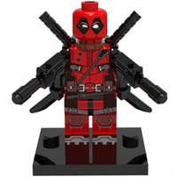 Deadpool 30pcs / lot Marvel Super Heroes figura Building Blocks Sets Modelo juguetes The Avengers mini figuras juguetes