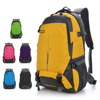 fashion 6 color men women nylon Mountaineering bags 45L High...