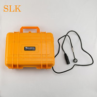 Yellow electronic nail temperature controller box kit with 6...