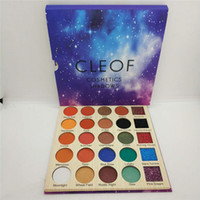 IN STOCK!2018 newest Cleof Eyeshadow palette 25 Colors Glitt...