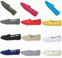 حار العلامة التجارية الجديدة النساء الرجال قماش أحذية الشقق المتسكعون عارضة أحذية واحدة الصلبة أحذية رياضية القيادة للجنسين espadrille المشي الأحذية