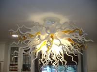 Lampen AC90-265V Moderne LED-Kronleuchter für Wohnzimmer Schlafzimmer Decor SUBHER HOFTER Deckenleuchte Geblasenes Glas Kronleuchter Home Decoration