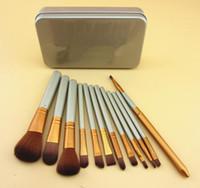 عاريا 3 من الفئة الفنية 12 PCS ماكياج فرشاة التجميل ماكياج الوجه أدوات فرشاة مجموعة DHL الشحن المجاني