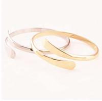 1 pz / set vendita calda gioielli bracciali bracciali punk polsino braccialetto per le donne