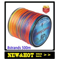 Dropshipping Braided Fishing line 8 Strands 500m Multicolor ...