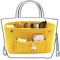 شعرت obag القماش الداخلية حقيبة المرأة الأزياء حقيبة متعددة جيوب التجميل التخزين المنظم حقائب حقائب الأمتعة الملحقات