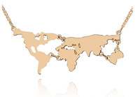 Globus Weltatlas Weltkarte Anhänger Halsketten Halskette Silber Gold Schwarz Anhänger Für Frauen Mädchen Erklärung Schmuck 4 Farben