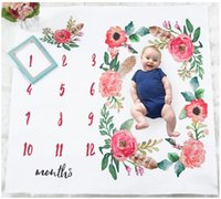 Blanket For Newborn Baby Photos Flowers Background Photograp...