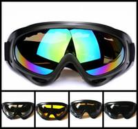 أسود إطار نظارات الثلوج يندبروف uv400 دراجة نارية الثلج تزلج نظارات نظارات الرياضة نظارات السلامة واقية مع حزام