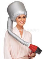 Professional Comfort Home Portable Salon Hair Dryer Soft Hood Bonnet Attachment Silver Color Haircare Bonnet dryer attachment