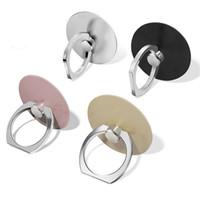 Универсальный 360 вращение мобильного телефона кольцо пряжки сцепление стенд, сотовый телефон палец металлическое кольцо держатель для мобильного телефона стенд с розничной упаковке