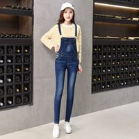36d6d958f0 New Arrival. 2018 New Casual Boyfriend Ripped Jeans Jumpsuit Women ...