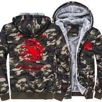 wholesale Men' s Hoodies Targaryen Fire & Blood 2018 ...