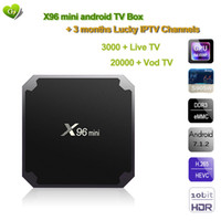 X96 mini Smart Box Android TV box 2G Ram 16G Rom with 3 mont...