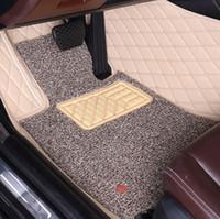 Ismarlama araba paspaslar özel Audi A8 için L S8 A8L D3 D4 A6 A7 Q5 Q7 lüks deri tam kapak kilim yüksek kaliteli halı