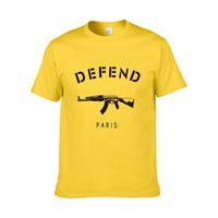 New Arrival DEFEND PARIS T- shirt Hiphop Defend T Shirt TShir...