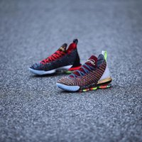 (With Box)High Quality Athletic What The LeBron 16 1 Thru 5 ...