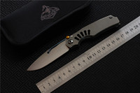 Free shipping, kevin johnTilock outdoor Flipper Folding knife...