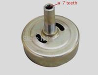 클러치 드럼 / 클러치 스프로킷 7T for 1E40F-5 40F-5 40-5 브러시 커터 트리머 잔디 깎는 기계