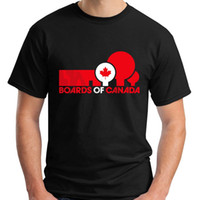 BOARDS OF CANADA BOC Electronic Hip Hop Short Sleeve Black M...