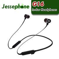 G16 bluetooth auriculares inalámbricos deportes corriendo auriculares auriculares con micrófono para iphone x xs samsung máximo con caja al por menor 60pcs DHL
