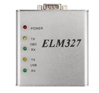 ELM327 USB Metal V1.4 RS232 COM Arayüzü 25K80 Çip OBD2 Tam Protokol Stokta En Iyi Kalite Matel Ücretsiz Kargo