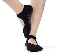 여성의 요가 그립 양말 바레 필라테스 발레 댄스 양말 비 슬립 미끄럼면 발목 스포츠 발가락 신발 한 사이즈 5 ~ 10 12pair