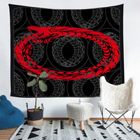 Divination Red Eye Totem Pattern Theme Tapestry 36*25 60*51 ...