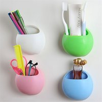 Creative multi function bathroom kitchen suction type oval s...